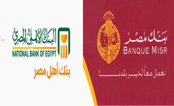 دليل فروع البنوك داخل مصر