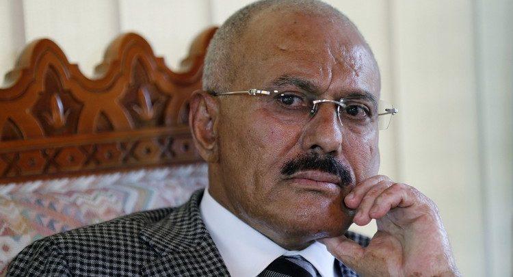 لحظة العثور على جثة علي عبدالله صالح
