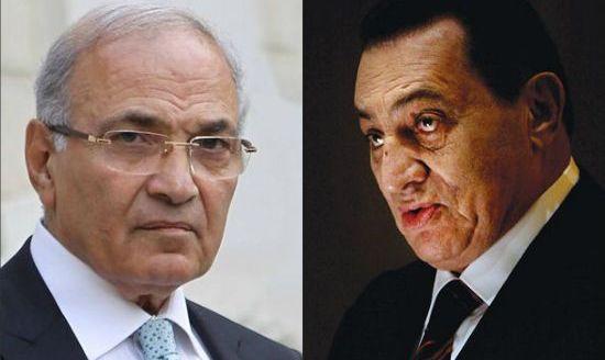 أول تعليق لمبارك على ترشح شفيق