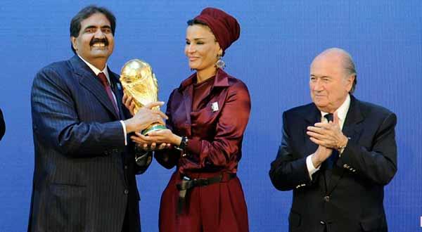 فوز قطر بتنظيم كأس العالم