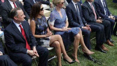 صورة المصرية «دينا باول» مستشارة الأمن القومي الأمريكي تستقيل عقب قرار ترامب