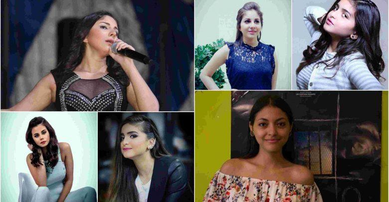 5 فنانات شباب أثرن الجدل