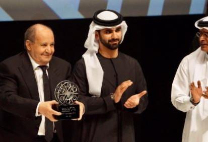 خطاب وحيد حامد في مهرجان دبي