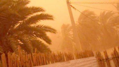 صورة الأرصاد الجوية تحذر من الأمطار والعاصفة الترابية الأحد على هذه المناطق