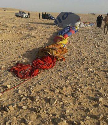 ضحايا البالون الطائر بالأقصر