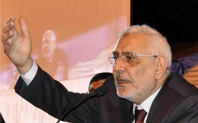 نيابة أمن الدولة تحقق مع عبد المنعم أبو الفتوح