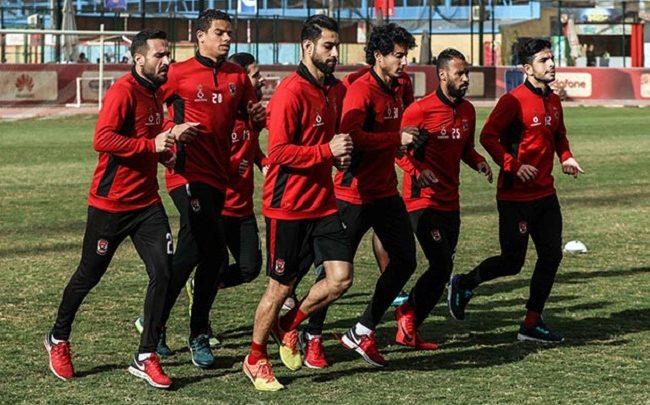 الأهلي يستعيد لاعبي الفريق أمام الإنتاج الحربي