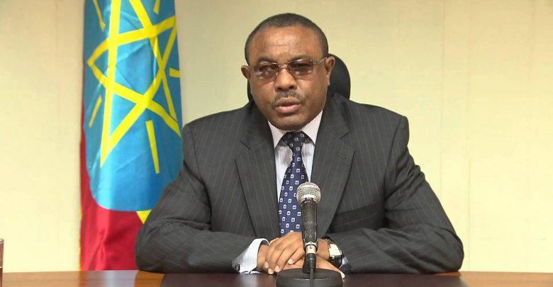 رئيس الوزراء الإثيوبي يقدم استقالته من منصبه