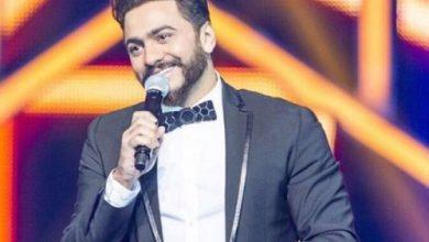 صورة تامر حسني يطلق اغنية المونديال بحفل الجونه.. فيديو