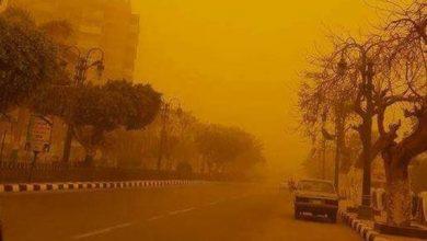 صورة غلق بعض الطرق بسبب العاصفة الترابية الشديدة .. تعرف على التفاصيل