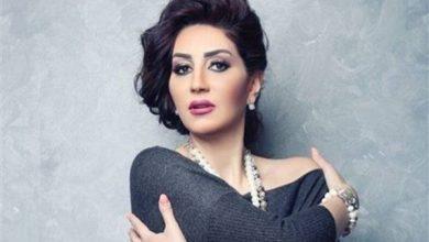صورة شاهد| إحتفال وفاء عامر مع نساء الصعيد في كواليس تصوير مسلسلها الجديد