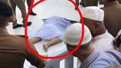 صورة شاهد|لحظة انتحار حاج عراقي داخل الحرم المكي..فيديو وصور