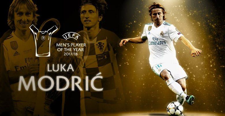أفضل لاعب في أوروبا عام 2018