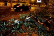 صورة إصابة 27 وانقطاع الكهرباء عن 300 ألف شخص بسبب إعصار ليزلي بالبرتغال