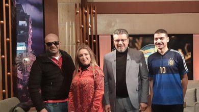 صورة كايا حبيب سارة…مع عمرو الليثي اليوم في واحد من الناس