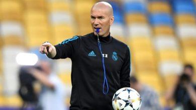 صورة زين الدين زيدان يعود لتدريب ريال مدريد من جديد