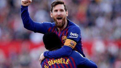 صورة ريال بتيس ضد برشلونة.. هاتريك وإصابة ورسالة أبرز ملامح تصدر البارسا للدوري الإسباني