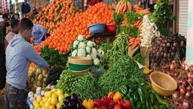 صورة أسعار الخضروات والفاكهة في سوق العبور 12-4-2019