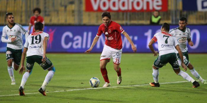 موعد مباراة الأهلي أمام المصري