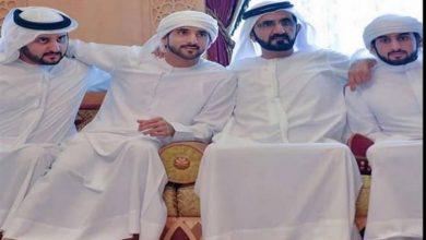 صورة بالصور.. كيف هنأت أحلام حاكم دبي لزواج أبناءه