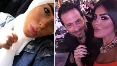 صورة ماهيتاب ماجد المصري بإطلالة محجبة في حفل زفاف شقيقها