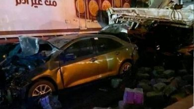 صورة تفاصيل حادث تصادم كمين الحظر بالطريق الدائري الإقليمي (فيديو)